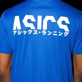 asics Katakana SS Top Men, tuna blue